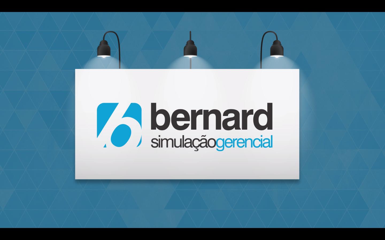 bernard simulação gerencial - jogos de empresas - fundo vídeo